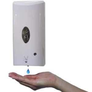 WALL MOUNTED SANITIZER DISPENSER (AUTOMATIC)