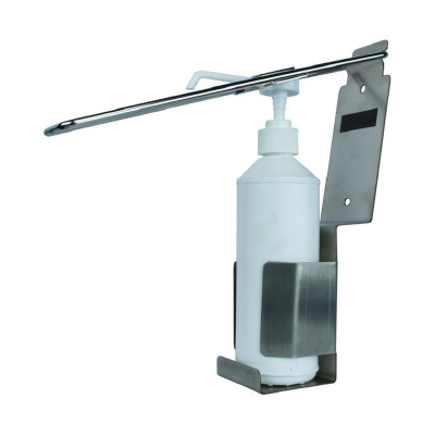 WALL MOUNTED SANITIZER STAND